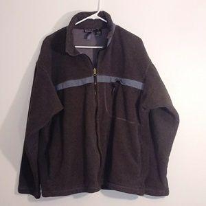 Patagonia grey fleece jacket size XL